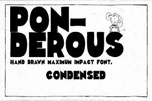 Ponderous - Condensed