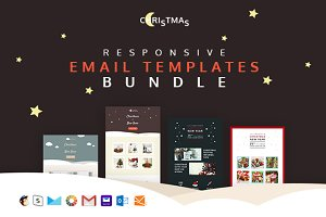 Christmas — 4 holiday email+builder