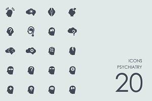 Psychiatry icons
