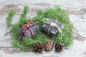 Chritmas coal gifts