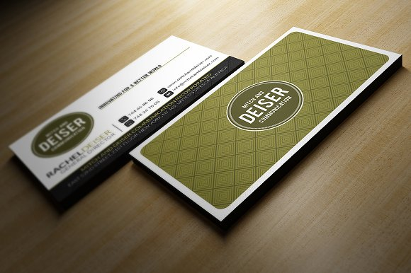 Professional Business Card Business Card Templates Creative Market