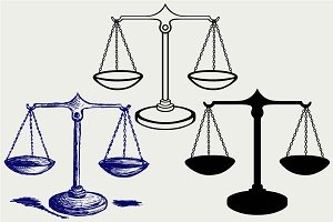 Scales of Justice SVG