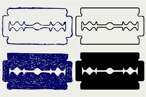 Blade razor SVG