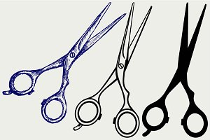 Scissors Hairdressers SVG