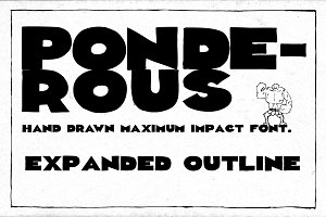Ponderous - Expanded