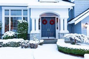 Winter holidays at home