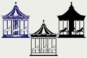 Merry-go-round SVG