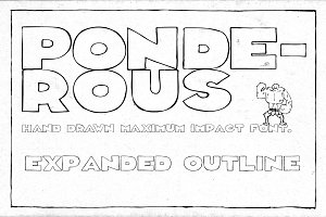 Ponderous - Expanded Outline