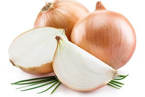 Bulb onions and green onions
