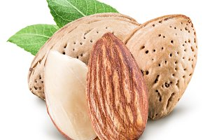 Almond nuts.