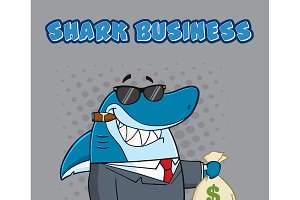 Business Boss Shark