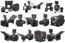 Camera video professional set