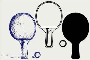 Ping pong SVG
