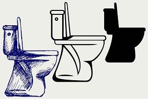 Toilet SVG