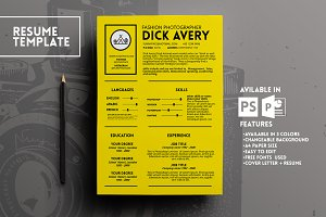 Avery Resume Template