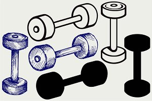 Dumbbell weight 2
