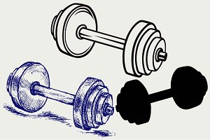 Dumbbell weight 3
