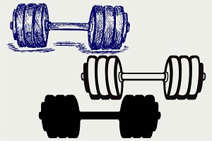 Dumbbell weight 4