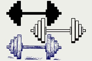 Dumbbell weight 6