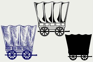 Wagon to transport 2