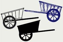 Wagon to transport 3
