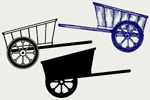 Wagon to transport 3