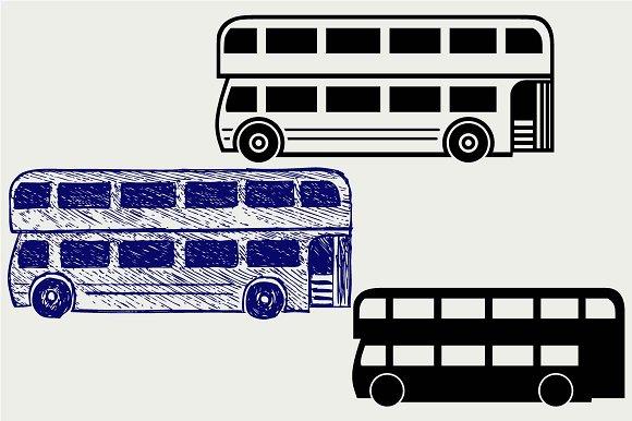 London City Bus SVG DXF