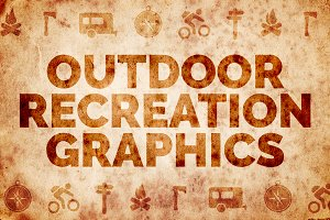 Outdoor Adventure Icons