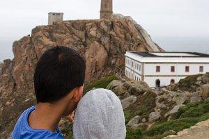 Lighthouse Of Cabo Vilan, Galicia