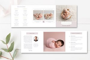 Photographer Accordion Trifold