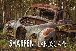 18 Sharpen your Landscape Presets