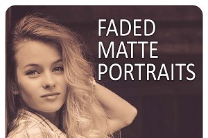 16 Faded Sepia Matte Portrait Preset