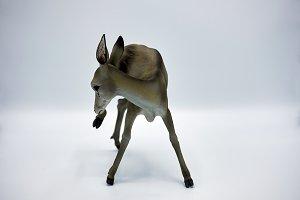 stone figurine of deer