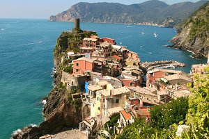 Vernazza and the Sea