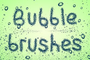 Bubbles brushes for Photoshop