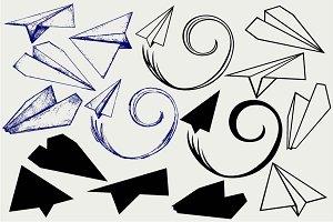 Paper plane SVG