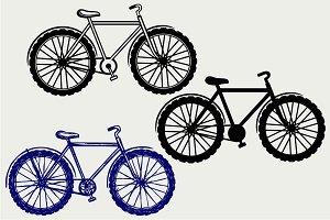 Classic bike SVG