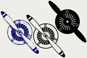Aircraft propeller SVG