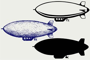 Dirigible SVG