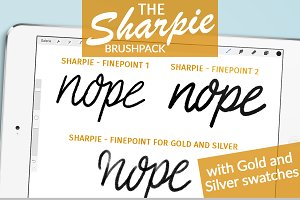 SHARPIE Fine Point Brush Pack