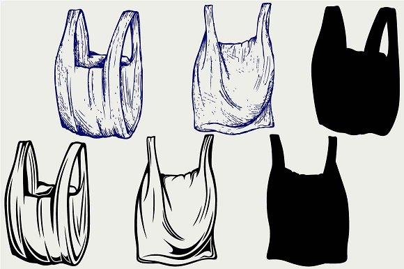 Various Plastic Bags