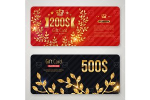 Gift cards with branch