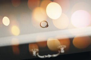 Wedding Details. Engagement Ring.