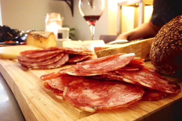 Meat, Cheese, and Wine