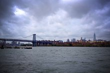 The East River in New York City