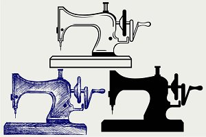Sewing Machine SVG