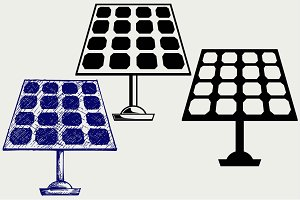 Solar Panel SVG