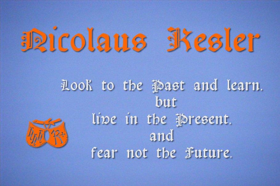 Best Nicolaus Kesler Vector