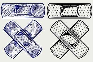 Adhesive bandage SVG