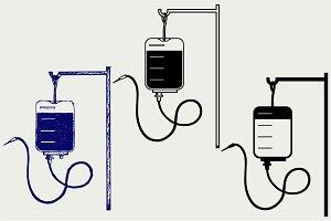Blood bag SVG